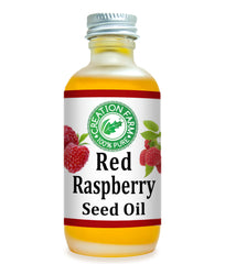 Red Raspberry Oil Virgin Cold Pressed 2 Oz de Aceite en Fro Virgen Aceite de Frambuesa Rojo - Creation Pharm