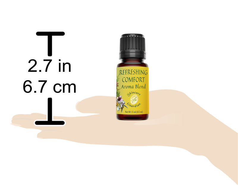 Refreshing Comfort 100% Pure Aromatherapy Blend for Diffusers and Skin Care 15 ml SinCare Guardian - Creation Pharm