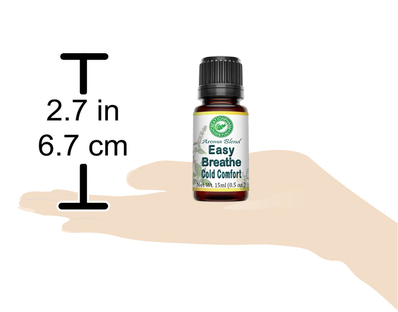 Easy Breathe Aroma Blend Supports Respiratory System * Sinus Relief * 15 ml (0.5 oz) - Creation Pharm