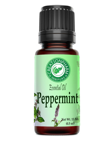 Peppermint Essential Oil 100% Pure Creation Pharm - Aceite esencial de menta - Creation Pharm