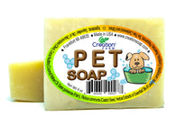 Pet Herbal Soap Bar  4 oz Bar (Two 4 oz Bar Pack) Hecho a mano natural del animal domstico Jabn - Creation Pharm