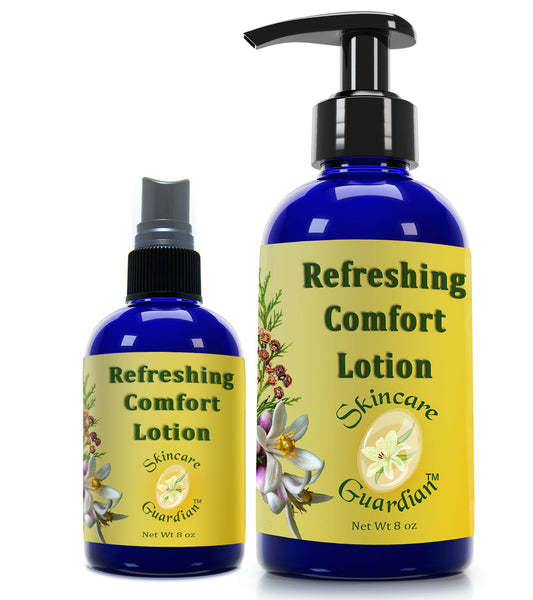 Refreshing Comfort Lotion  SkinCare Guardian Therapeutic Body Lotion