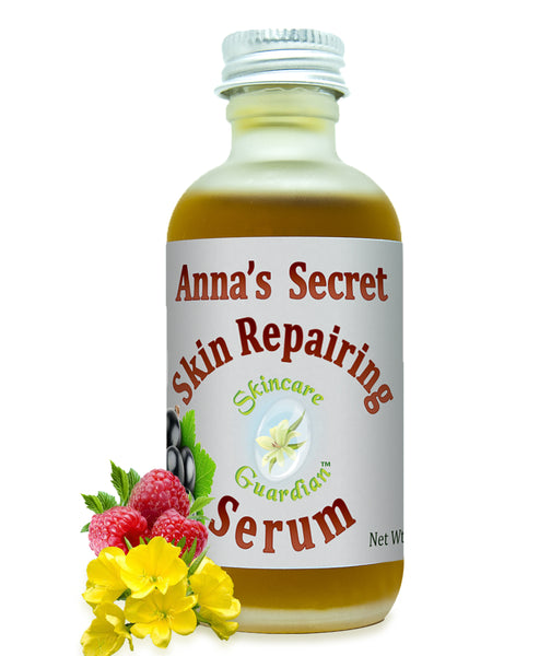 Anna's Secret Skin Repair Serum (Serum reparador de piel) 2 oz  Anti Aging, Sun Damaged Skin - Creation Pharm