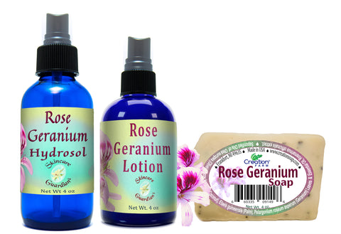 Rose Geranium Collection Set