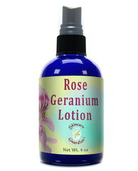 Rose Geranium Lotion 4 oz from SkinCare Guardian Therapeutic Body Lotion - Creation Pharm