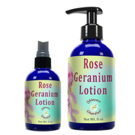 Rose Geranium Lotion  SkinCare Guardian Therapeutic Body Lotion - Creation Pharm