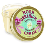 "Rose Geranium Cream 4 oz. ""Rescue"" - Creation Pharm"