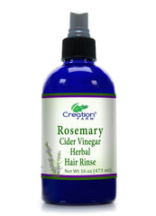 Rosemary Apple Cider Vinegar Hair Rinse 16 oz - Creation Pharm