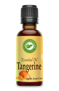 Tangerine Essential Oil 30ml (1oz) 100 Pure Essential Oil - Creation Pharm