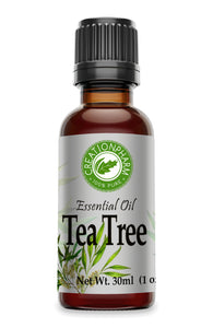 Tea Tree Essential Oil 1 oz (30ml) - Australian Tea Tree Oil- Aceite Esencial Arbol del T 100% Pure - Creation Pharm