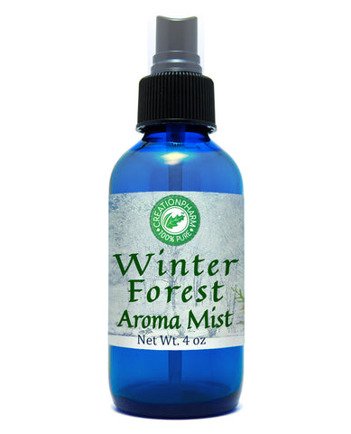 WinterForest Aroma Mist 4oz 100% Pure Essential Oil Mist - Creation Pharm