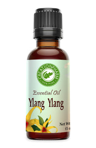 Ylang-Ylang Essential Oil 1 oz - 100% from Creation Pharm - Creation Pharm
