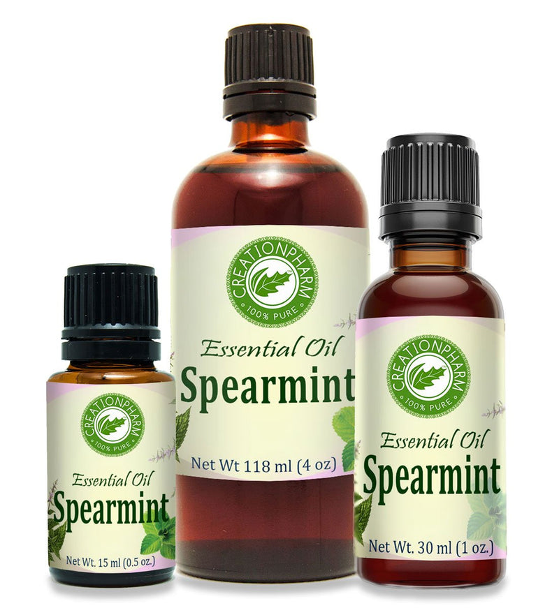 Spearmint Essential Oil 30ml (1oz) 100% Pure from Creation Pharm - Creation Pharm