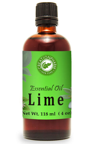Lime Essential Oil 120ml (4oz) Creation Pharm