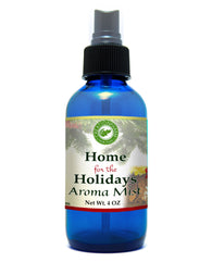 Home For The Holidays Aroma Mist 4oz 100% Pure Essential Oil Mist - Creation Pharm