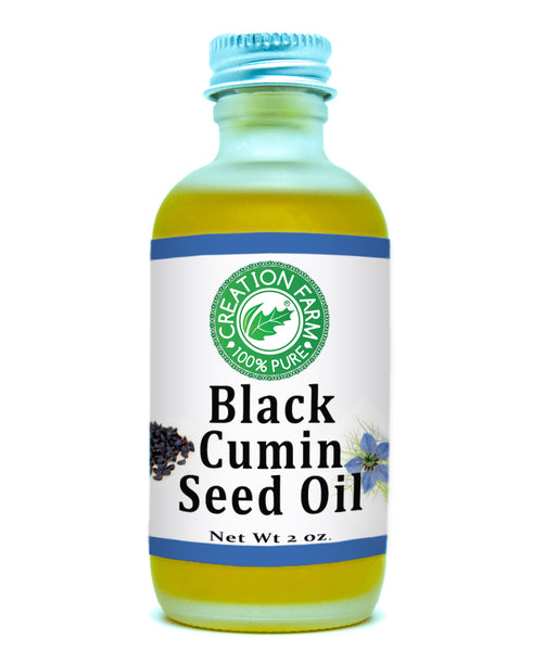 Black Cumin Seed Oil 2 Oz 100 % Pure, Cold Pressed, Unrefined, Virgin Black Cumin Seed Oil