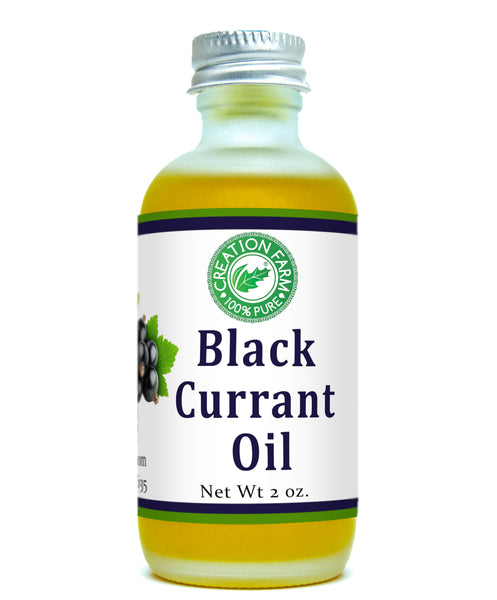 Black Currant Oil 2 Oz Frosted Bottle