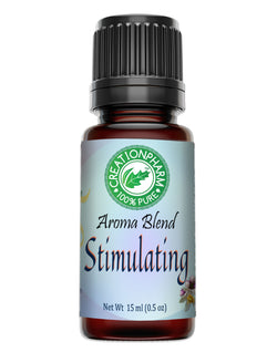 Stimulating Aromatherapy Essential Oil Blend 15 ml from Creation Pharm