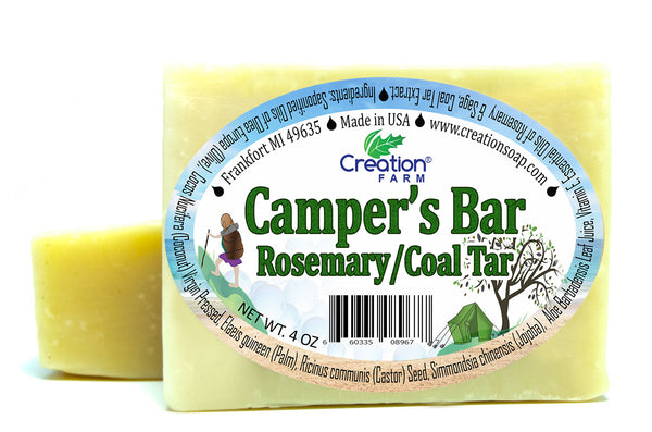Camper's Soap Twp 4 oz Bar Pack by Creation Farm