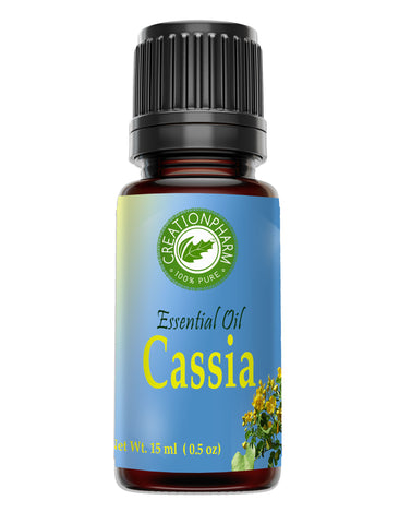 Cassia Essential Oil 100% Pure Creation Pharm -  Aceite esencial