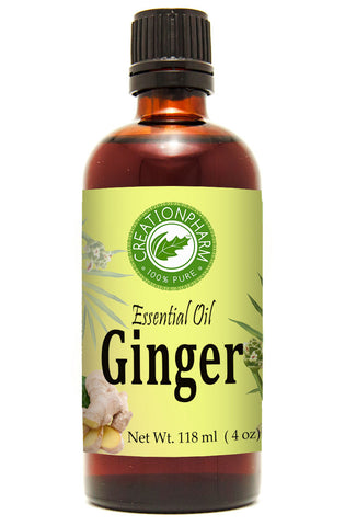 Ginger Essential Oil 120ml (4oz) Creation Pharm - Creation Pharm