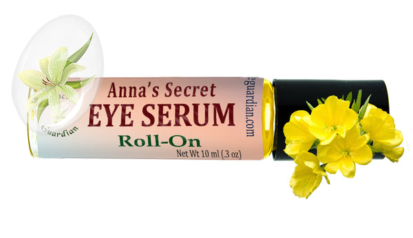 Anna's Secret Eye Serum Roll-on 10 Ml Botanical -Bags, Puffy Eyes, Dark Circles, or Saggy Skin - Creation Pharm