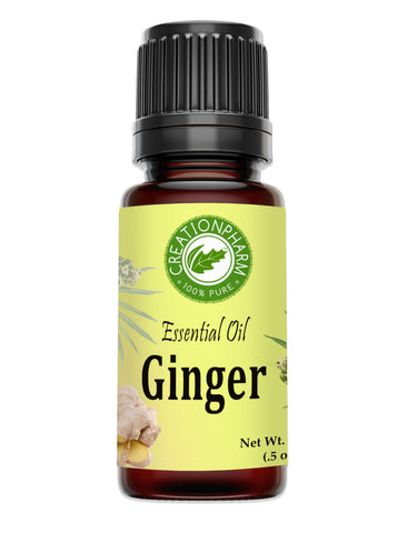 Ginger Essential Oil 100% Pure Creation Pharm -  Aceite esencial de jengibre - Creation Pharm