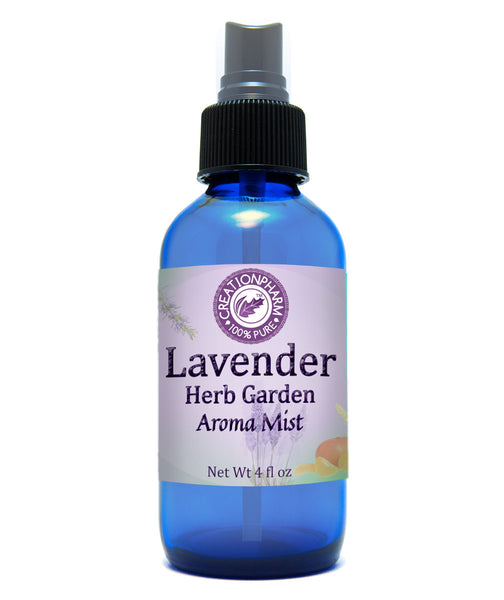 Lavender Herb Garden Aroma Mist 4 Oz -  Aire Fresco Spritz - Creation Pharm