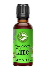 Lime Essential Oil 30ml (1oz) Creation Pharm - Creation Pharm