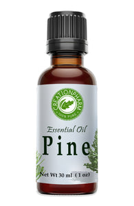 Pine Essential Oil 30ml (1oz) - Pine Oil 100% Pure from Creation Pharm - Creation Pharm