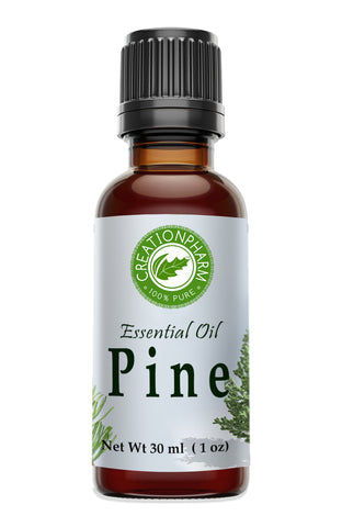 Pine Essential Oil 30ml (1oz) - Pine Oil 100% Pure from Creation Pharm