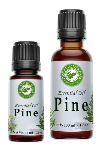 Pine Essential Oil 100% Pure from Creation Pharm -  Aceite esencial de pino - Creation Pharm