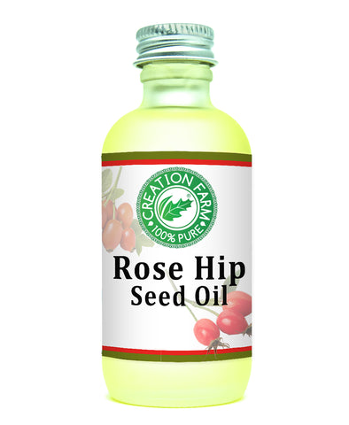 Rose Hip Seed Oil 2oz by Creation Farm - Creation Pharm
