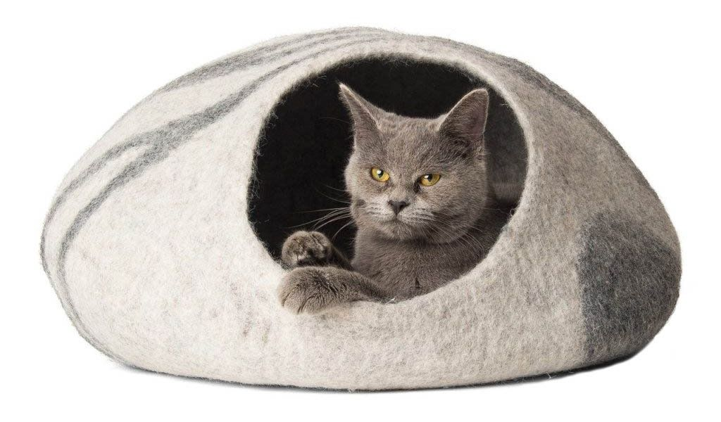 Care and Cleaning of Your TwinCritters Wool Cat Cave