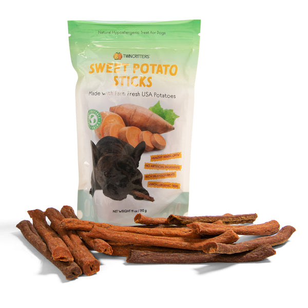 Ruminaturals Sweet Potato Chews Sticks - 11 oz. Value Pack