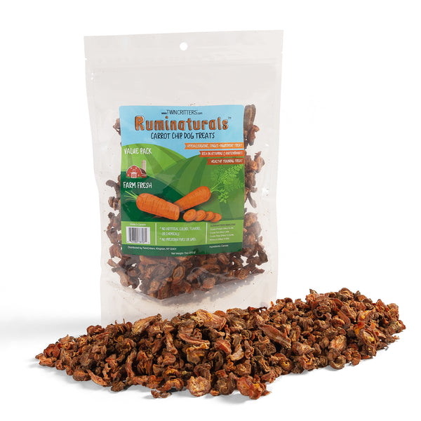 Ruminaturals Carrot Chip Dog Treats - 11 oz. Value Pack
