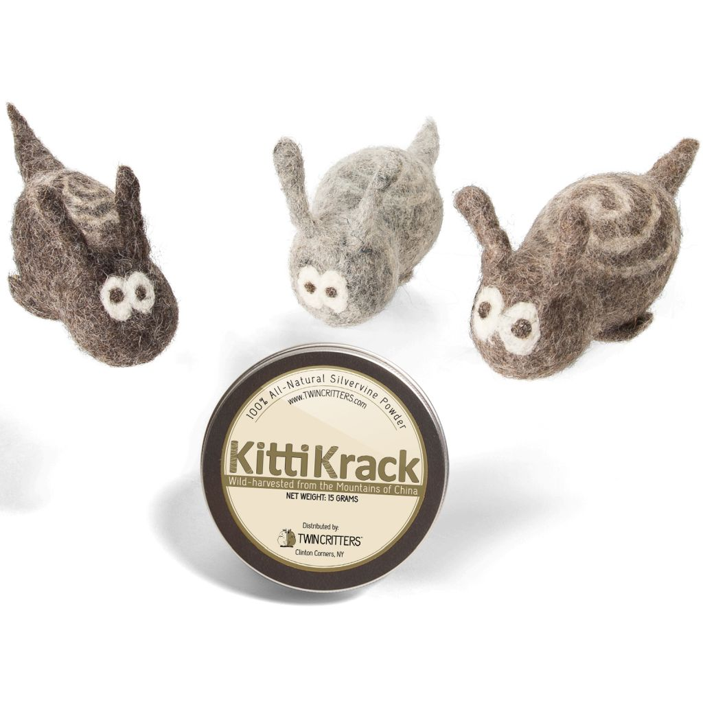 KittiTrails - SilverVine Catnip Snail Toy
