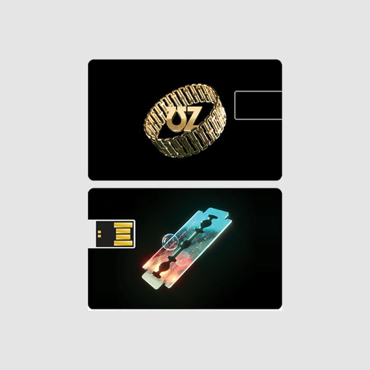USB CARD (LAYERS LP + INSTRUMENTALS)