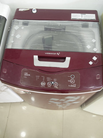 Refurbished Videocon Digi Gracia Toploading Fully Automatic 5.5 Kgs Washing Machine with 1 Yr Seller Warranty