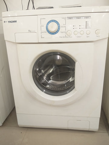 Refurbished LG Tromm Front Loading 5 Kgs Washing Machine with 1 Yr Seller Warranty