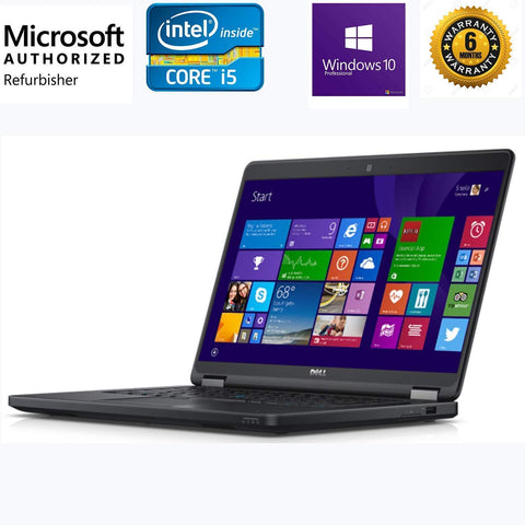 Refurbished Dell Latitude E5450 14-inch Laptop Core I5/Win 10/MS Office
