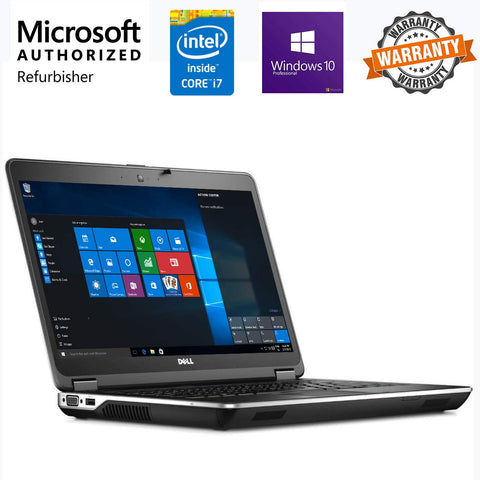 Refurbished Dell Latitude E6440 14-inch Laptop Core I5/Win 10/MS Office