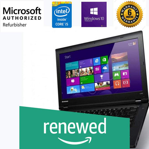 Refurbished Lenovo ThinkPad L440 14-inch Laptop Core I5/Win 10/MS Office
