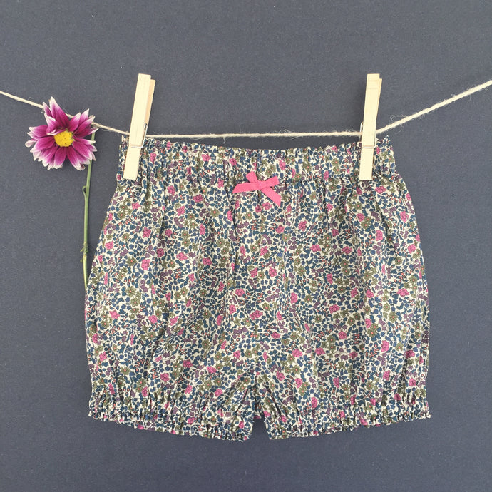 Bloomers in Liberty London Emilia's Flowers