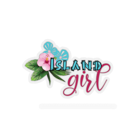 Island Girl Stickers