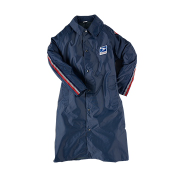 "Neese Postal 42"" Long Raincoat"