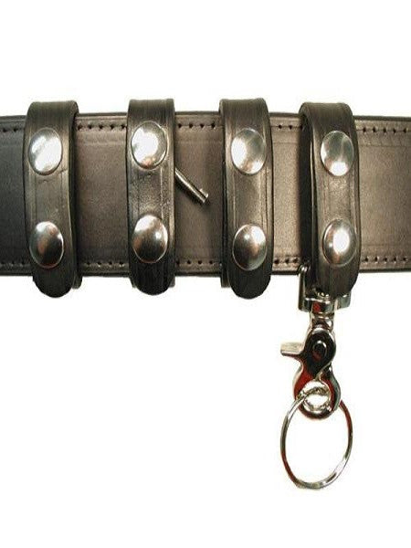 Boston Leather Belt Keeper Combo Pack