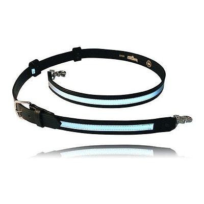 Boston Leather Reflective Firefighter's Radio Strap