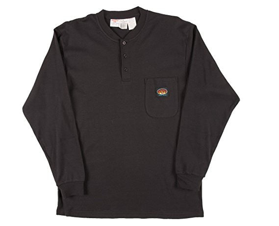 Rasco FR Gray Henley Shirt