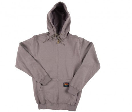 Rasco FR Gray Hooded Sweatshirt - KransonUniform.com